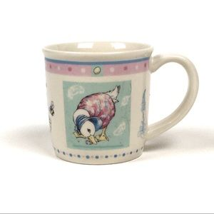 Wedgewood Jemima Puddle Duck Peter Rabbit Cup 2003
